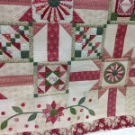 Charity quilt ready for auction
